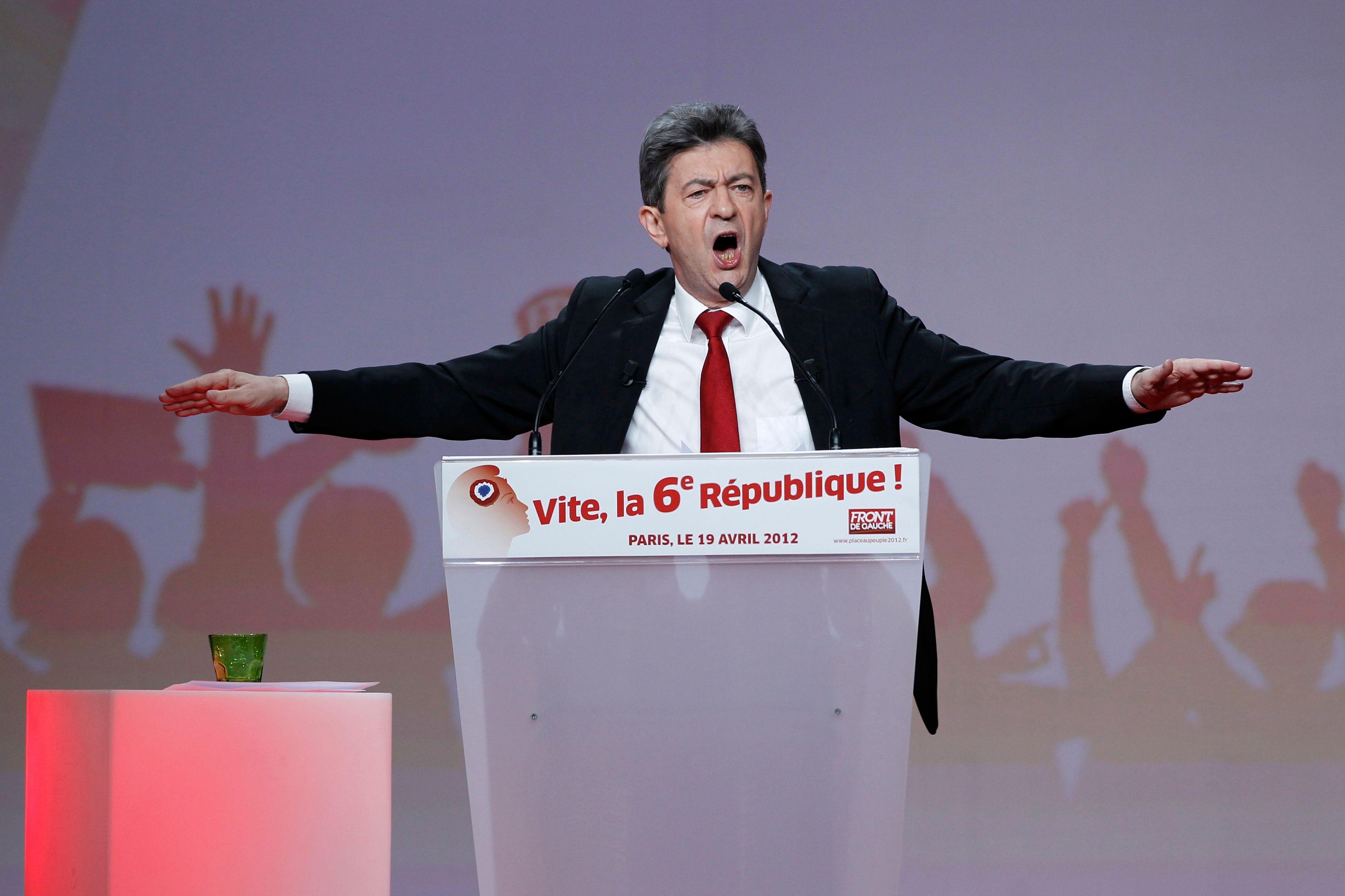 Jean-Luc Mélenchon a décidé de quitter la direction du Parti de gauche.