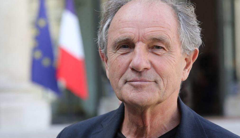 Jean-Paul Hamon quitte l'Elysée à Paris le 18 septembre 2018, après la présentation du « plan d'hôpital » par le président français.