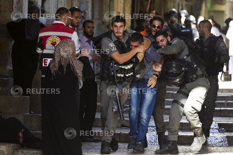 La venue d'un chrétien avec un drapeau israélien ce mardi sur l'esplanade des Mosquées de Jérusalem a probablement été vécue par les Palestiniens comme une provocation.