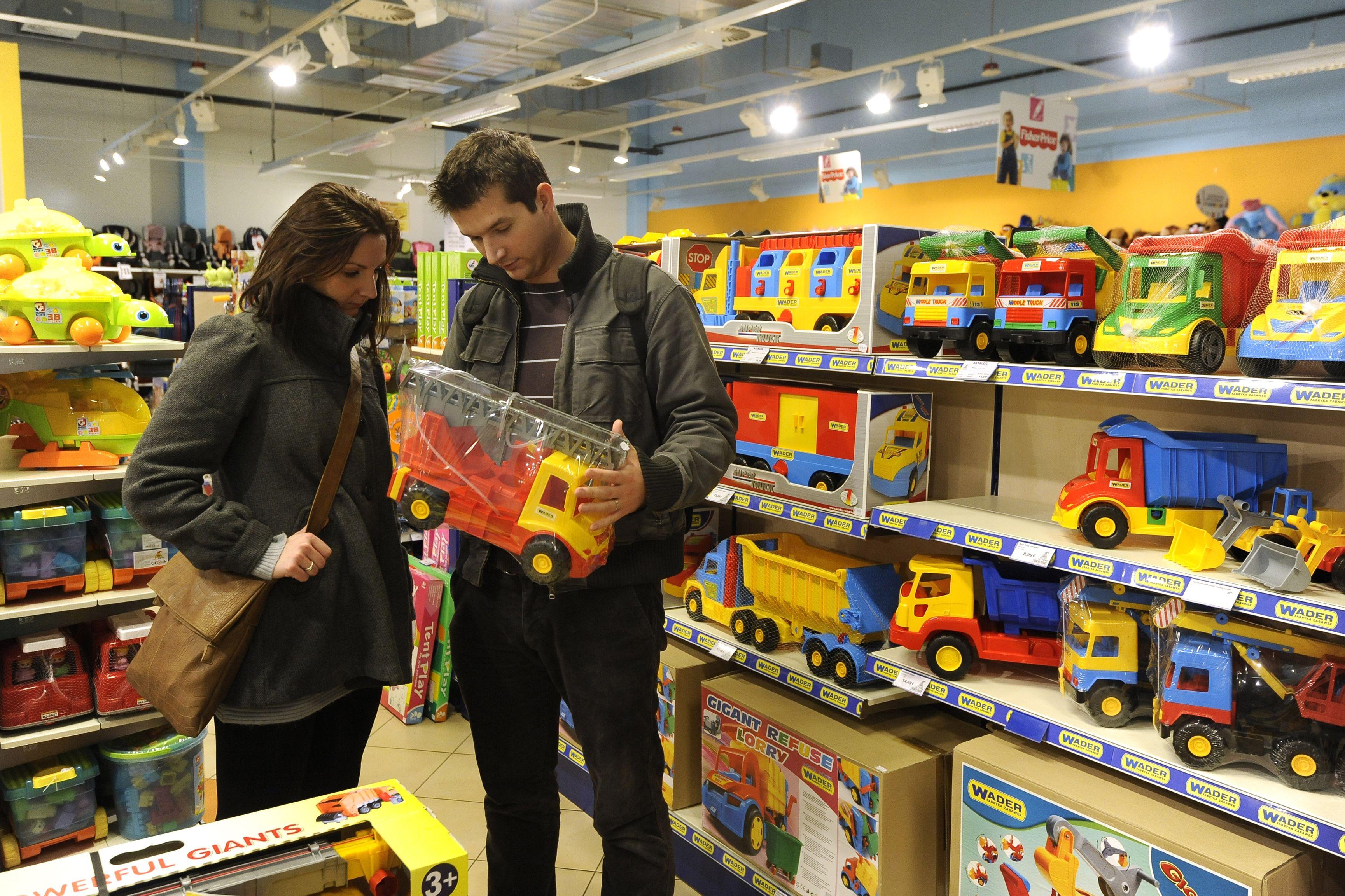 Le marché du jouet est très segmenté entre celui des filles et celui des garçons.