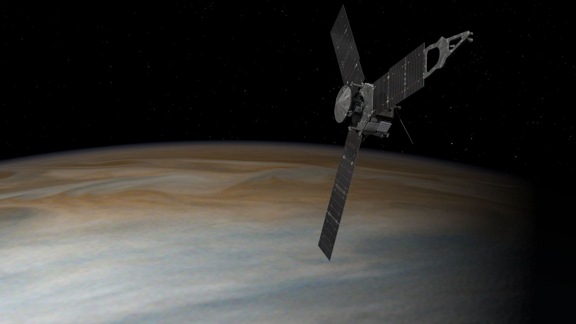 L'histoire de Juno, la sonde de la Nasa qui arrive sur Jupiter après une odyssée de cinq ans