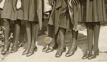 Des écolières des années 30