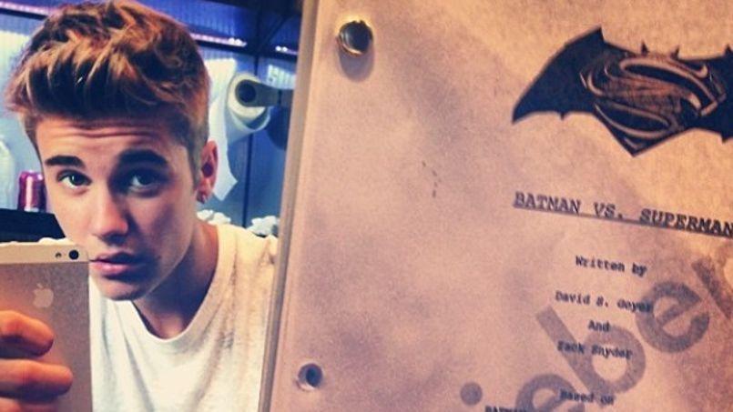 Justin Bieber laisse entendre qu'il jouera le rôle de Robin.