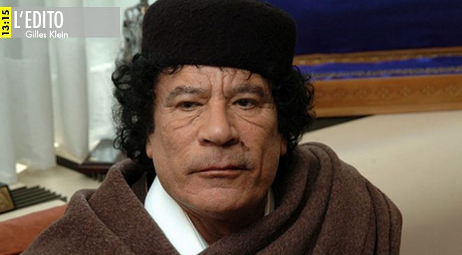 Le poison de l'aventure Kadhafi