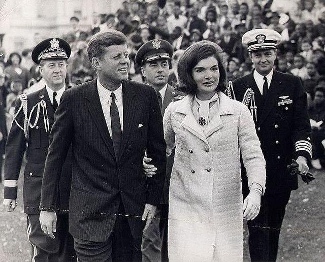 Le couple Kennedy.