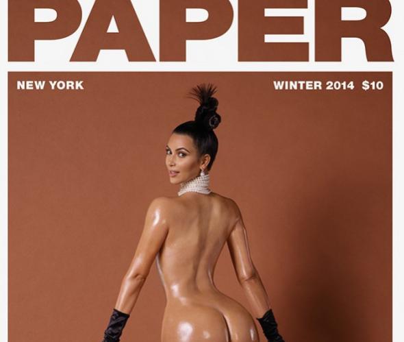 Kim Kardashian : elle pose maintenant seins nus après avoir montré ses fesses