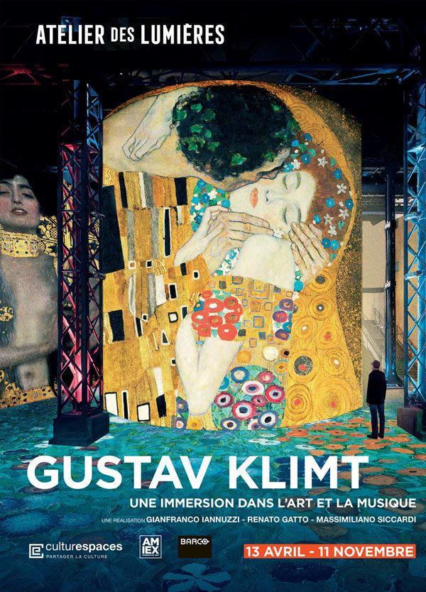 Klimt à l'atelier des Lumières : un nouveau pas intéressant dans la conception technique des expos