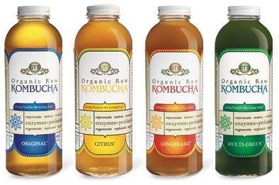 Le Komboucha est une boisson à base de thé vert ou de thé noir.