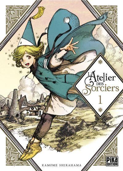 """""""L'atelier des sorciers"""" : un manga au top"""