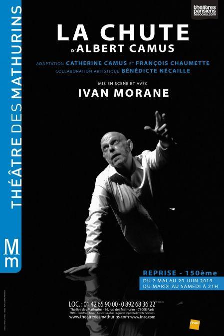 """""""La chute"""" mis en scène et avec Ivan Morane : Camus au sommet"""