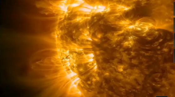 La Nasa filme la plus forte éruption solaire de 2014
