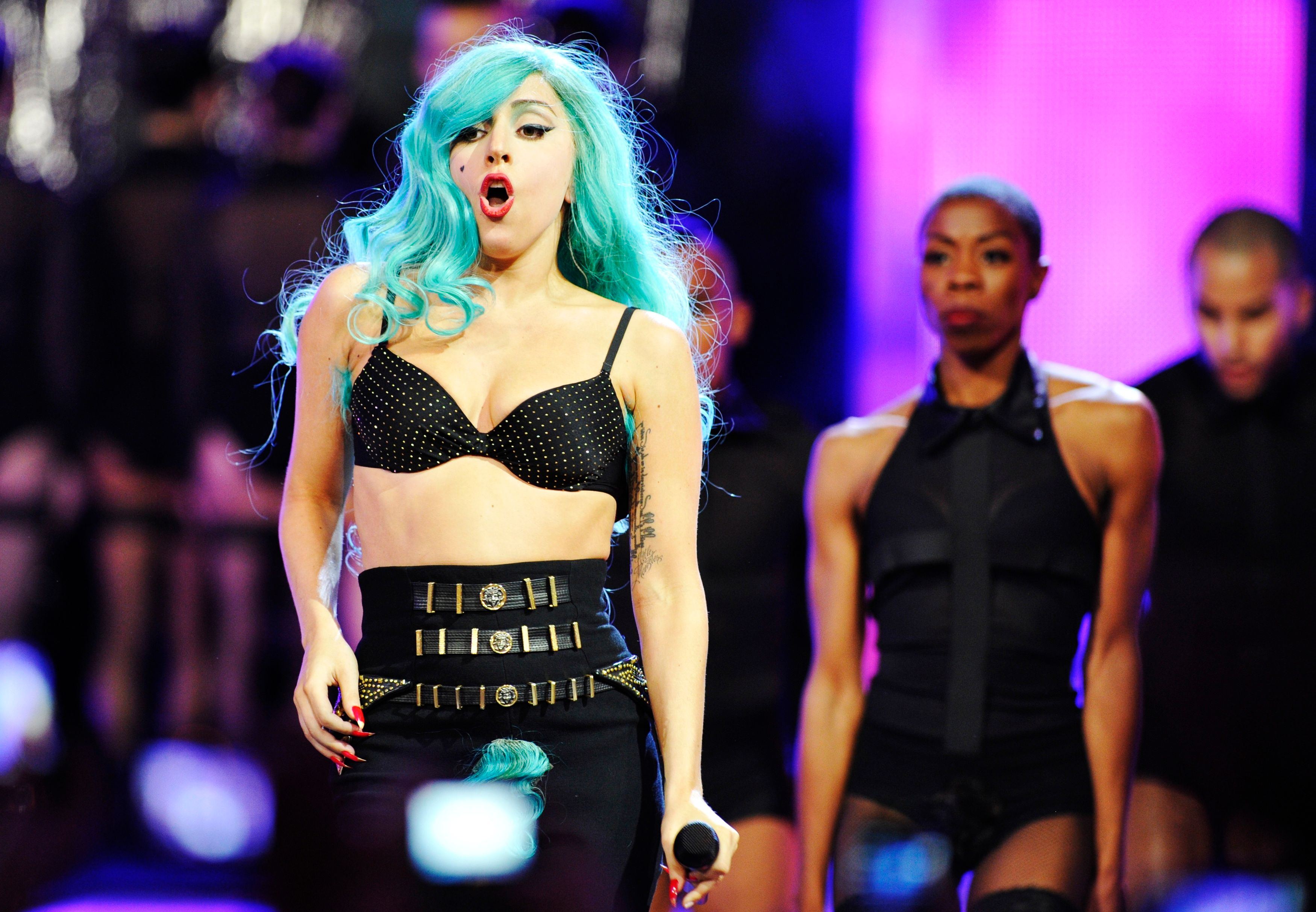 Lady Gaga au naturel. Ou presque.