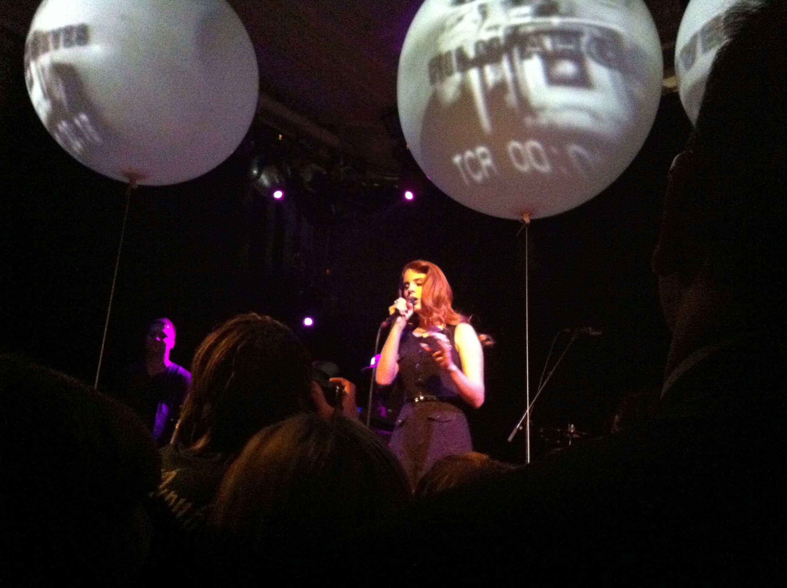 Lana Del Rey a interprété Heart Shaped Box de Nirvana à Sidney