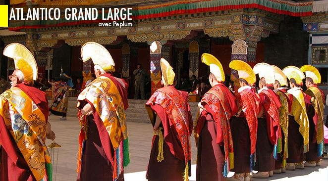 Sept jours, sept monastères, pour une découverte exclusive du Tibet.