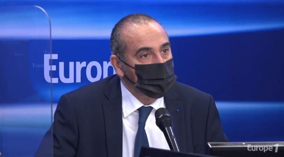 Laurent Nunez était l'invité d'Europe 1 ce mardi 11 mai. Il a été interrogé par Sonia Mabrouk sur la nouvelle tribune des généraux.