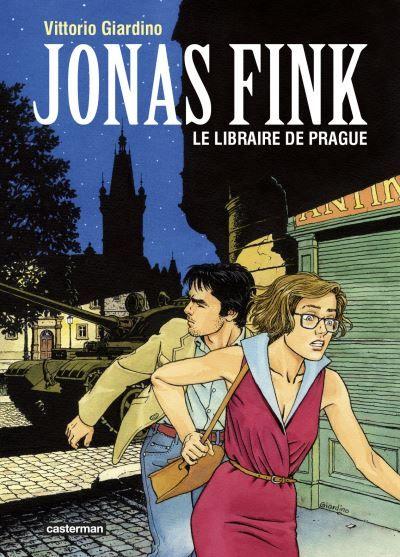 """""""Jonas Fink, le libraire de Prague"""" : romance dérisoire, triste printemps, mais très bonne BD"""