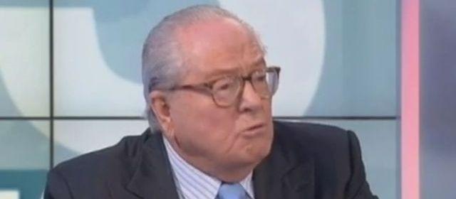 Jean-Marie Le Pen a prédit une arrivée massive de Roms à Nice en 2014
