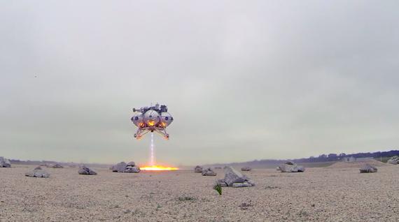 Cet engin spatial de la Nasa a passé avec succès un test dans les airs