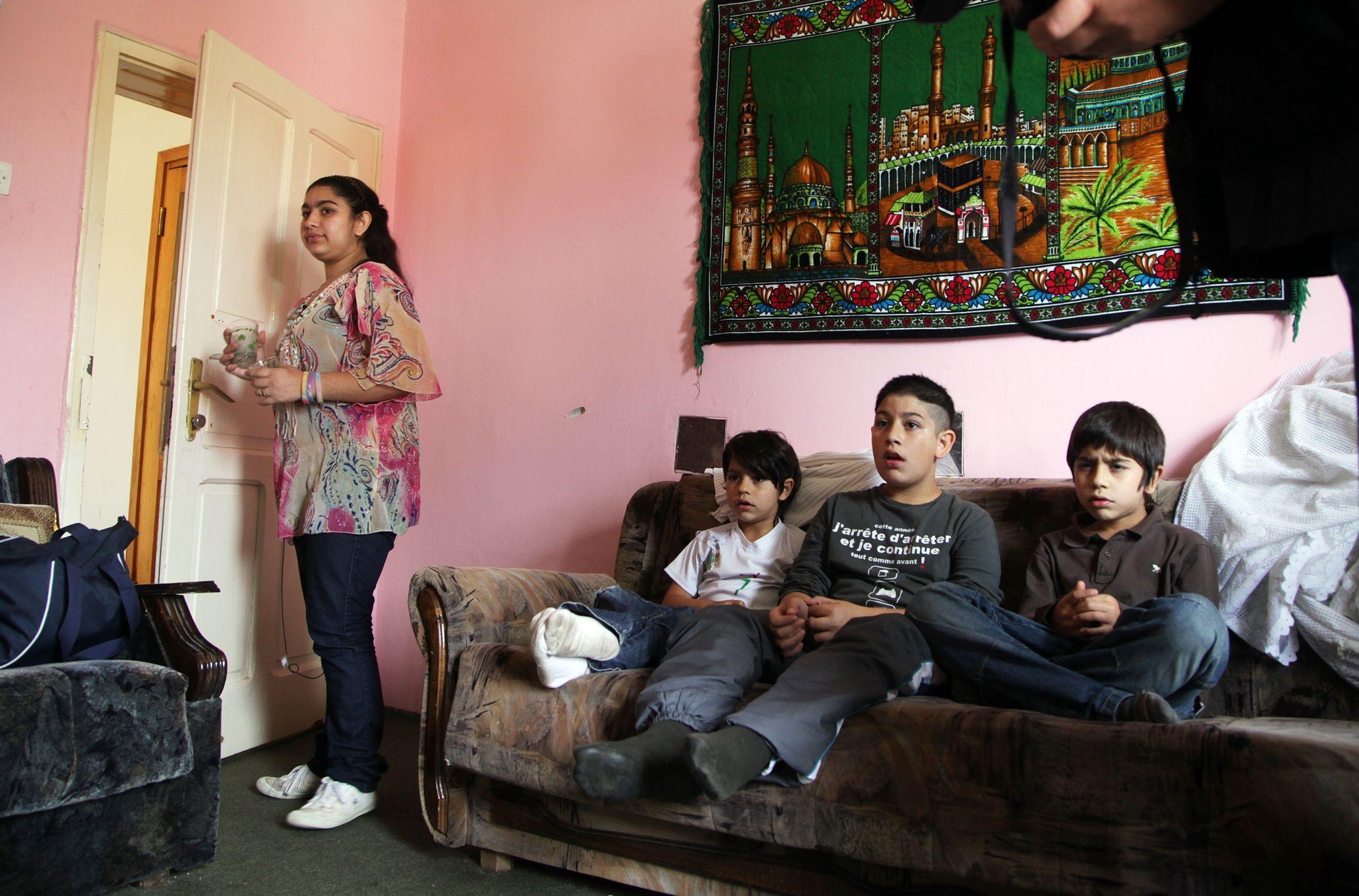 Resat Dibrani, le père de Leonarda a indiqué à l'AFP que sa fille et certains autres membres sa famille se trouvaient en Croatie