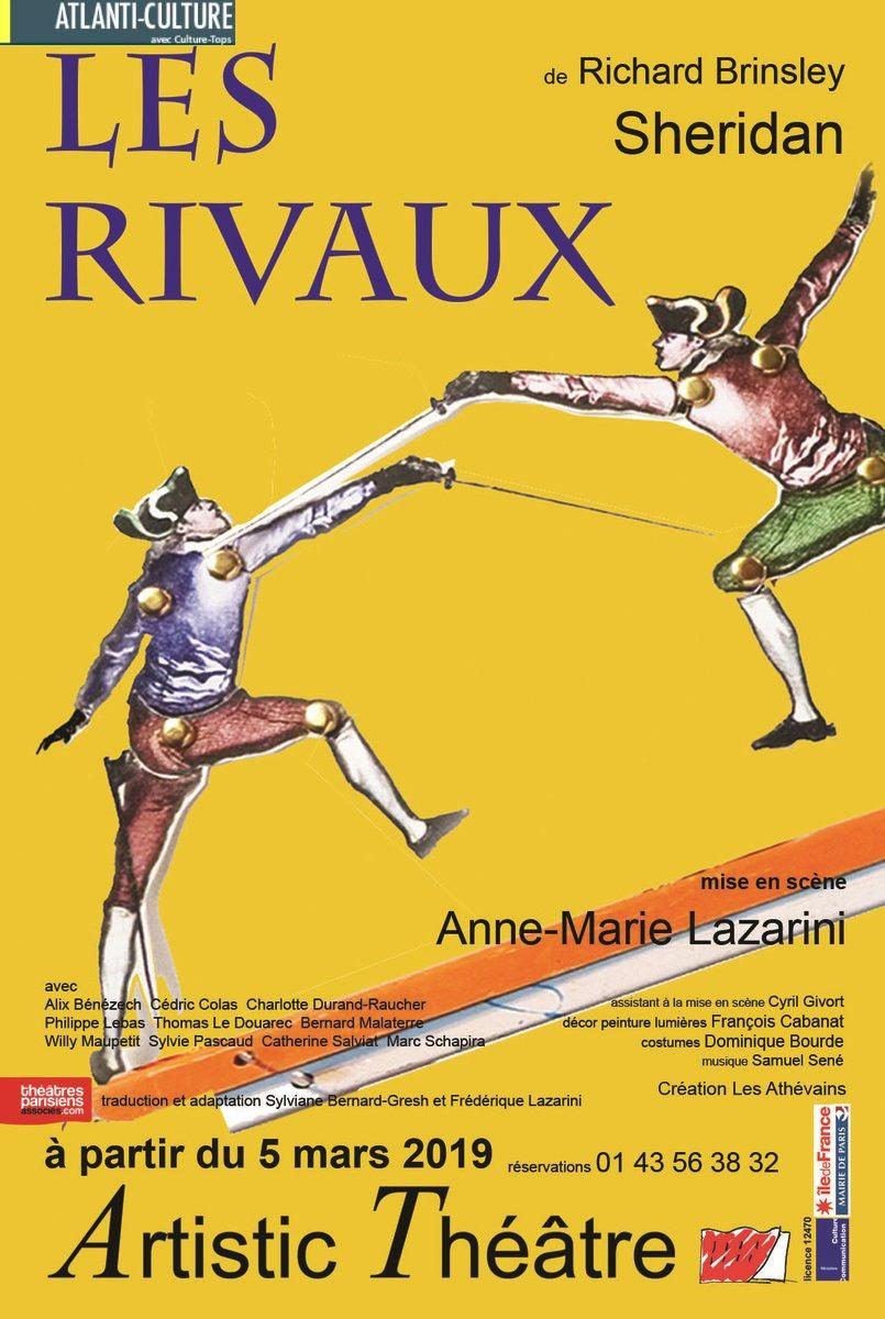 """""""Les Rivaux"""" de Richard Brinsley Sheridan : l'humour anglais ne date pas d'hier..."""