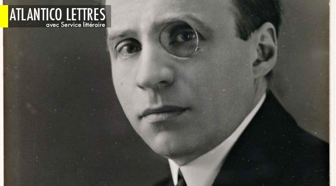 """En 1908, Francis de Miomandre reçoit le prix Goncourt pour son roman, """"Ecrit sur l'eau""""."""