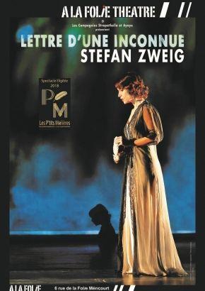 """""""Lettre d'une inconnue"""" : Sweig, dans toute sa finesse et sa profondeur"""