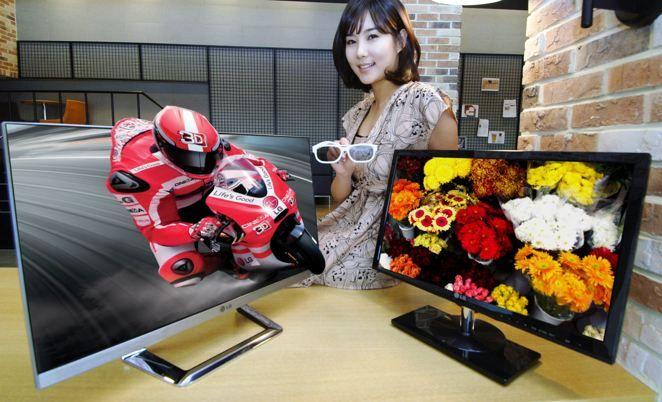 Le nouvel écran LG 3D.