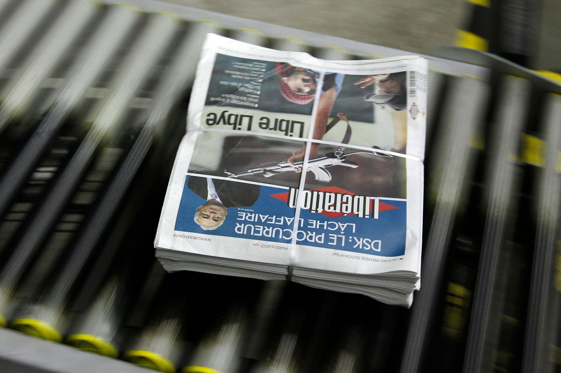 Libération a déjà atteint le stade du dépôt de bilan, en 2006.