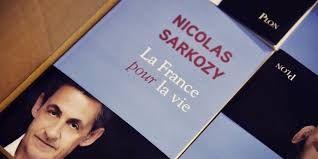 Le livre de Nicolas Sarkozy sort le 25 janvier