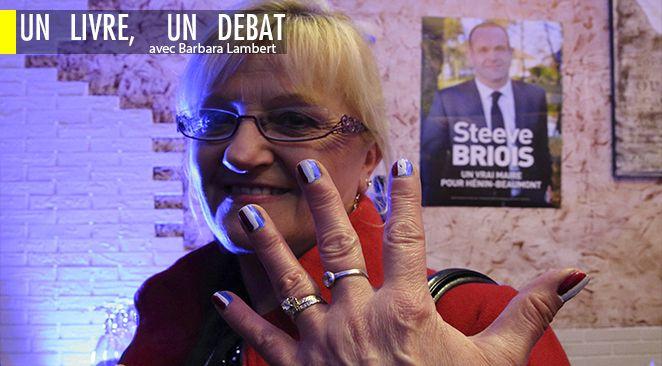 Une militante FN aux dernières élections municipales.