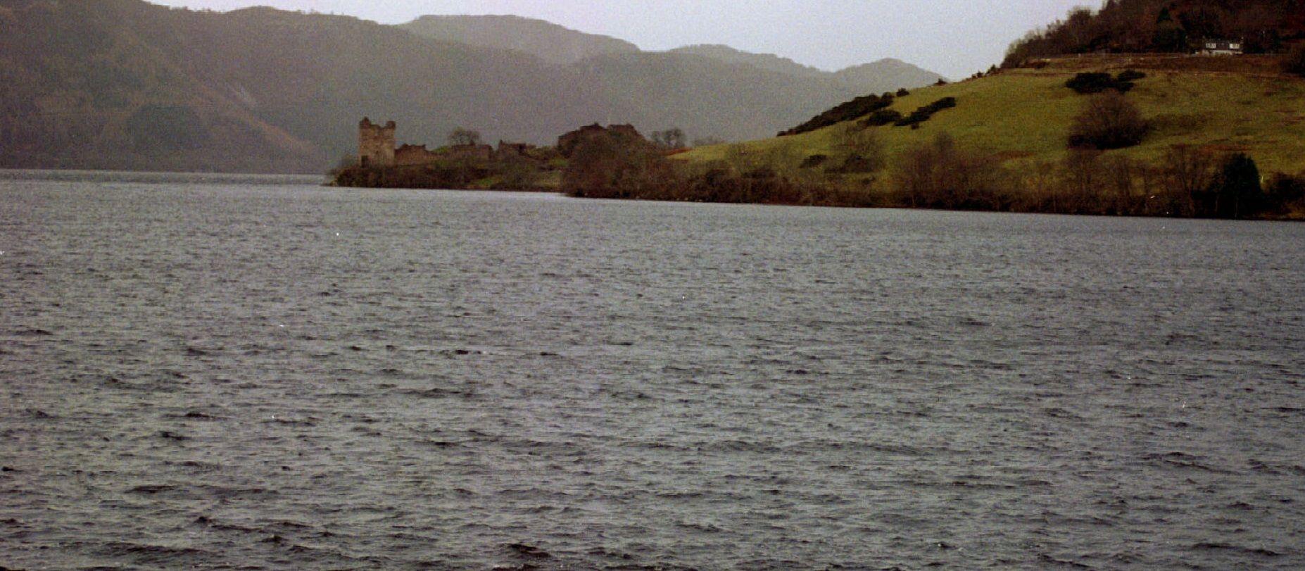 Le lac où se trouverait le monstre du Loch Ness