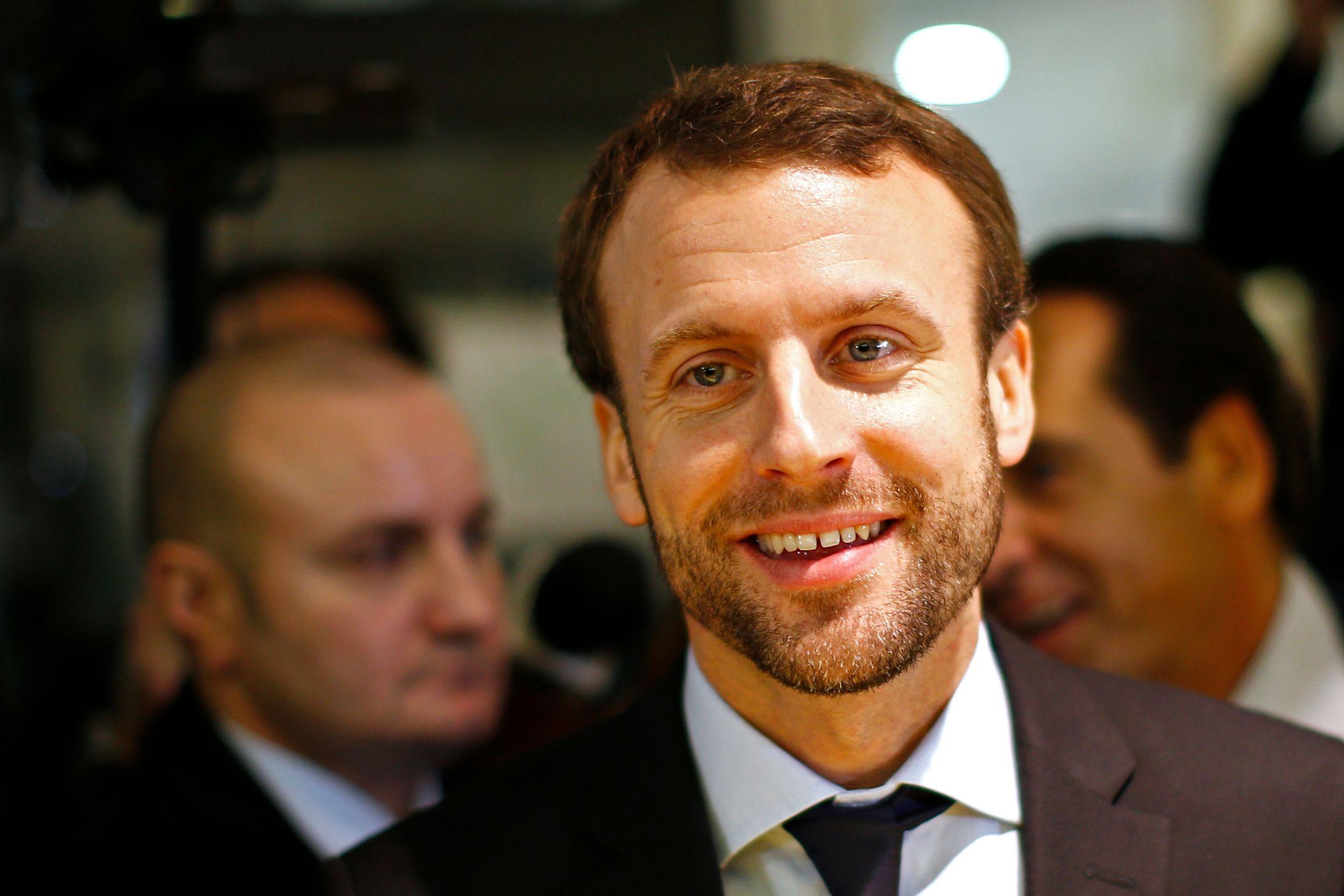 """Emmanuel Macron revendique une nouvelle fois son volontarisme, et indique """"Je ne suis pas de ceux qui disent qu'on a tout fait pour l'emploi et le marché du travail, c'est faux""""."""