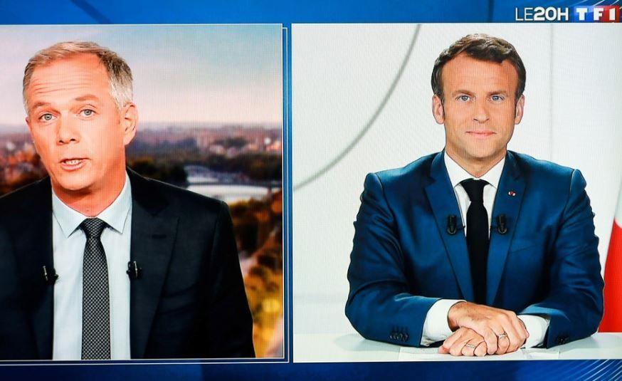 Emmanuel Macron Julien Arnaud entretien