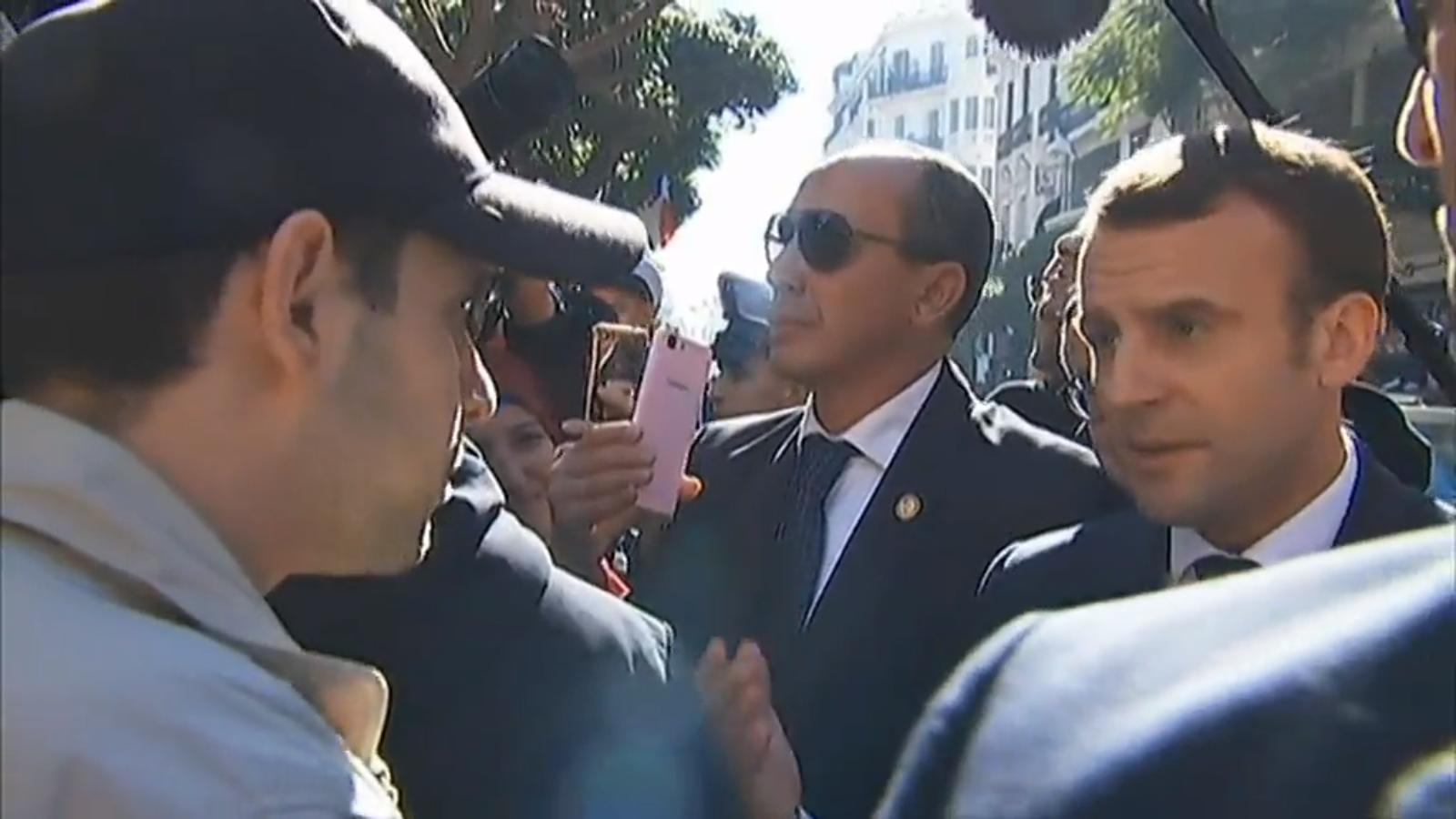 """Emmanuel Macron à un jeune Algérien : """"vous n'avez jamais connu la colonisation !"""""""
