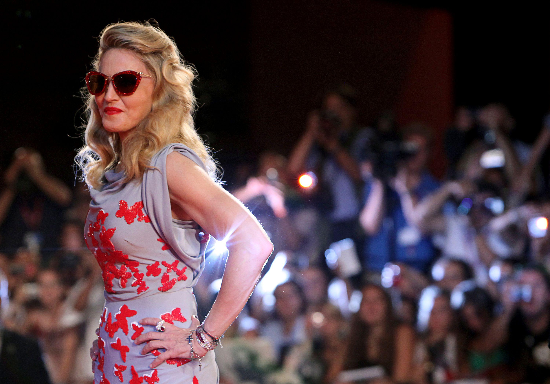 Madonna a encore défrayé la chronique ce samedi