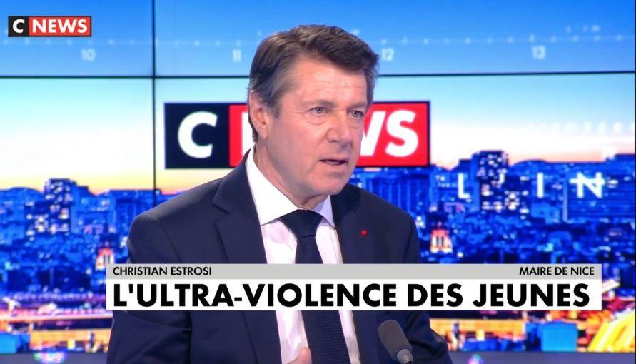 Christian Estrosi était invité sur CNews ce mardi 16 mars. Il s'est exprimé sur la violence des jeunes, suite aux récentes rixes entre bandes rivales et après le drame d'Argenteuil.