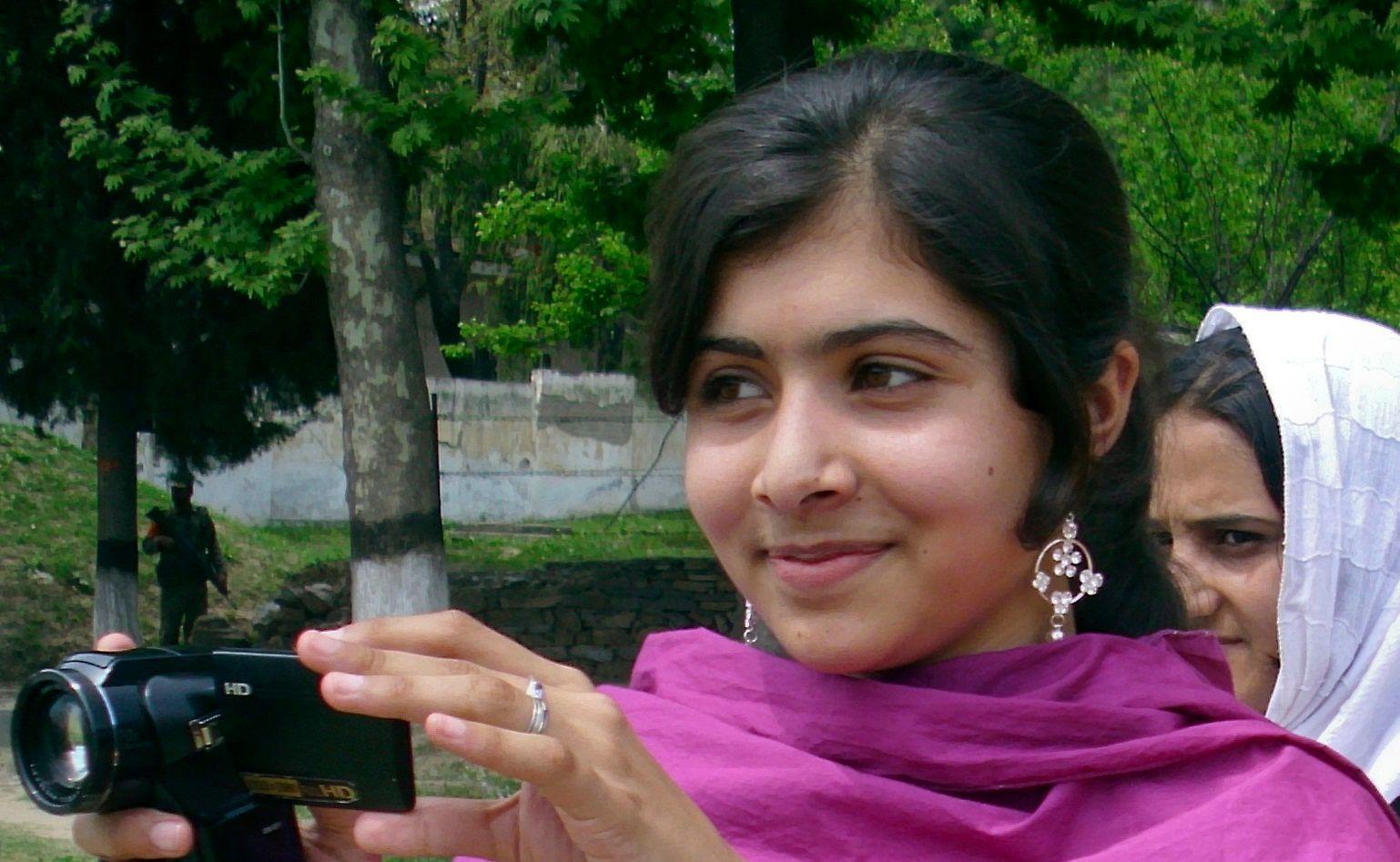 Malala fait partie des nominées au prix Nobel de la Paix 2013