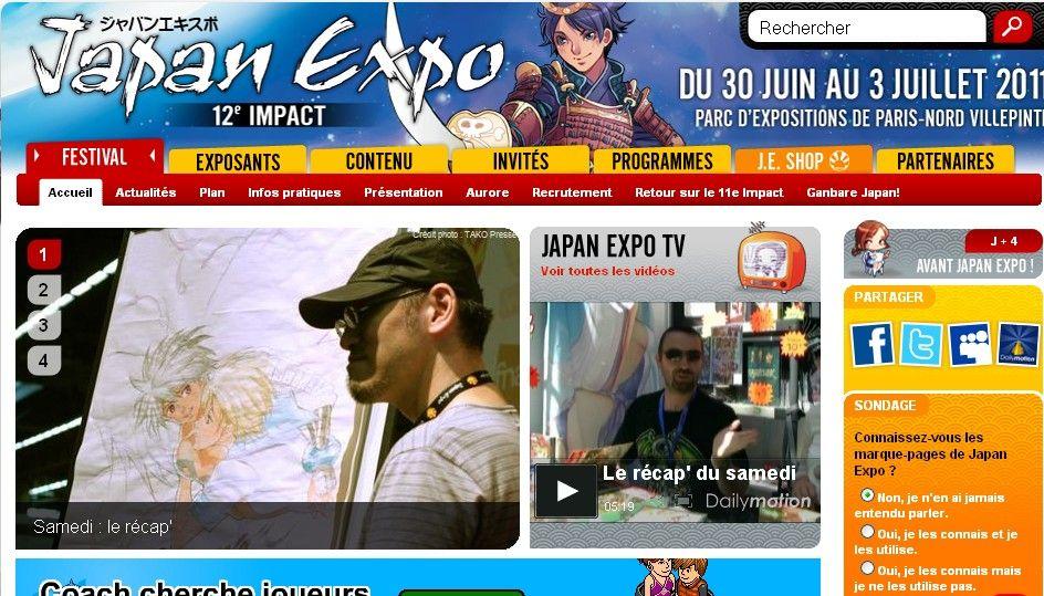 """La 12ème édition du salon """"Japan Expo 2011"""" s'est clos sur un succès."""