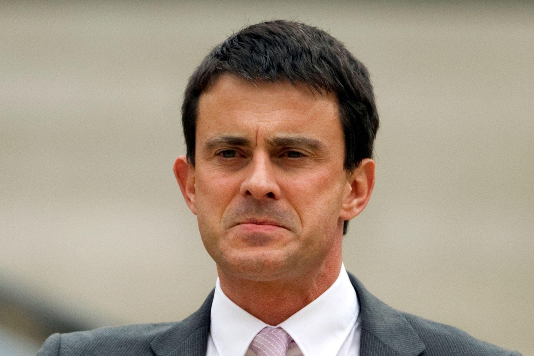 Manuel Valls a reçu les deux victimes