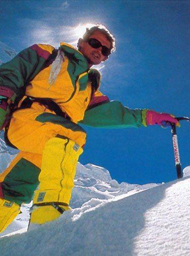 """""""Quand on est alpiniste, le véritable exploit n'est pas forcément d'atteindre le sommet mais surtout de rentrer vivant"""""""