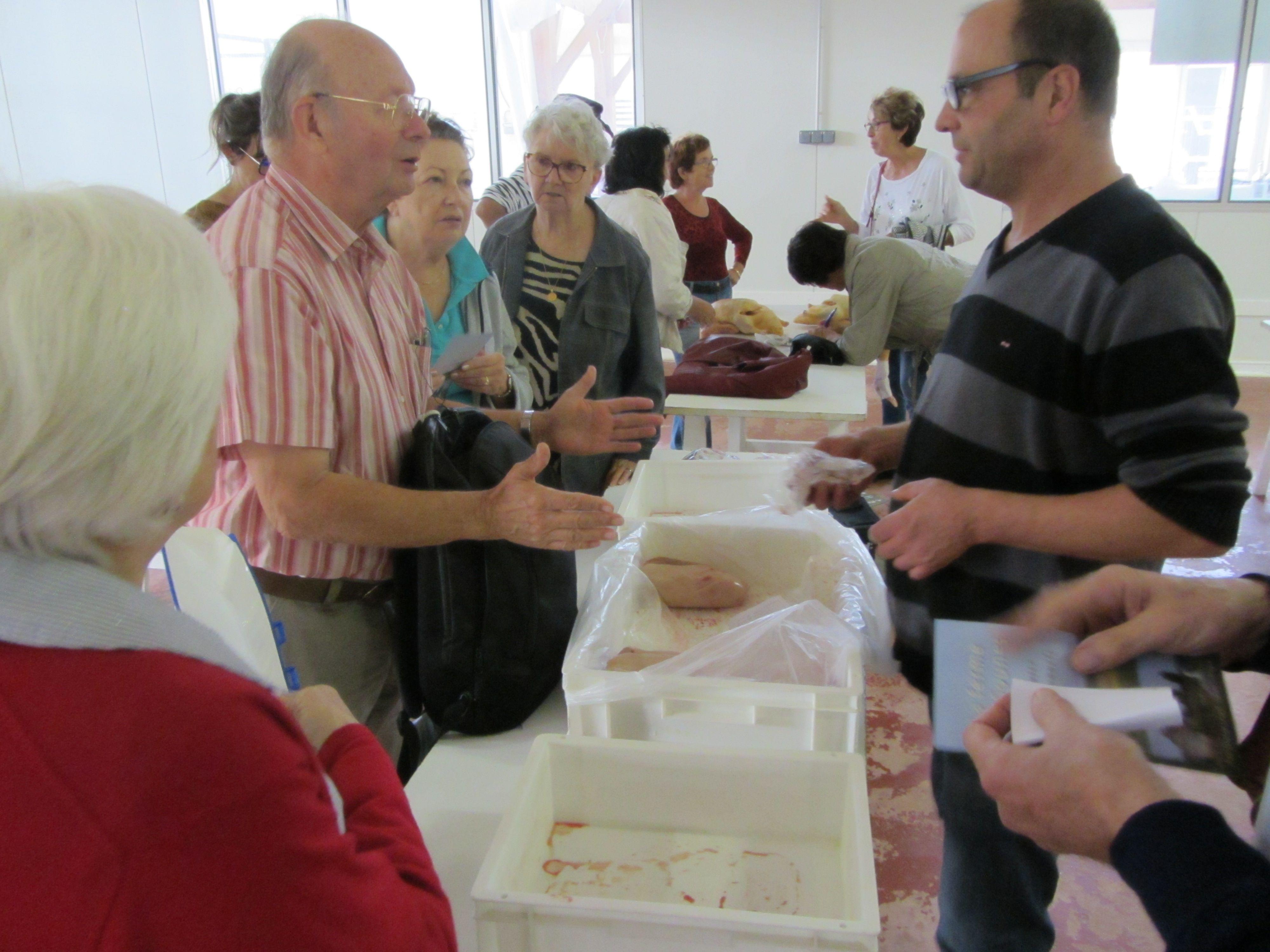 L'activité reprend au marché au gras de Samatan dans le Gers.