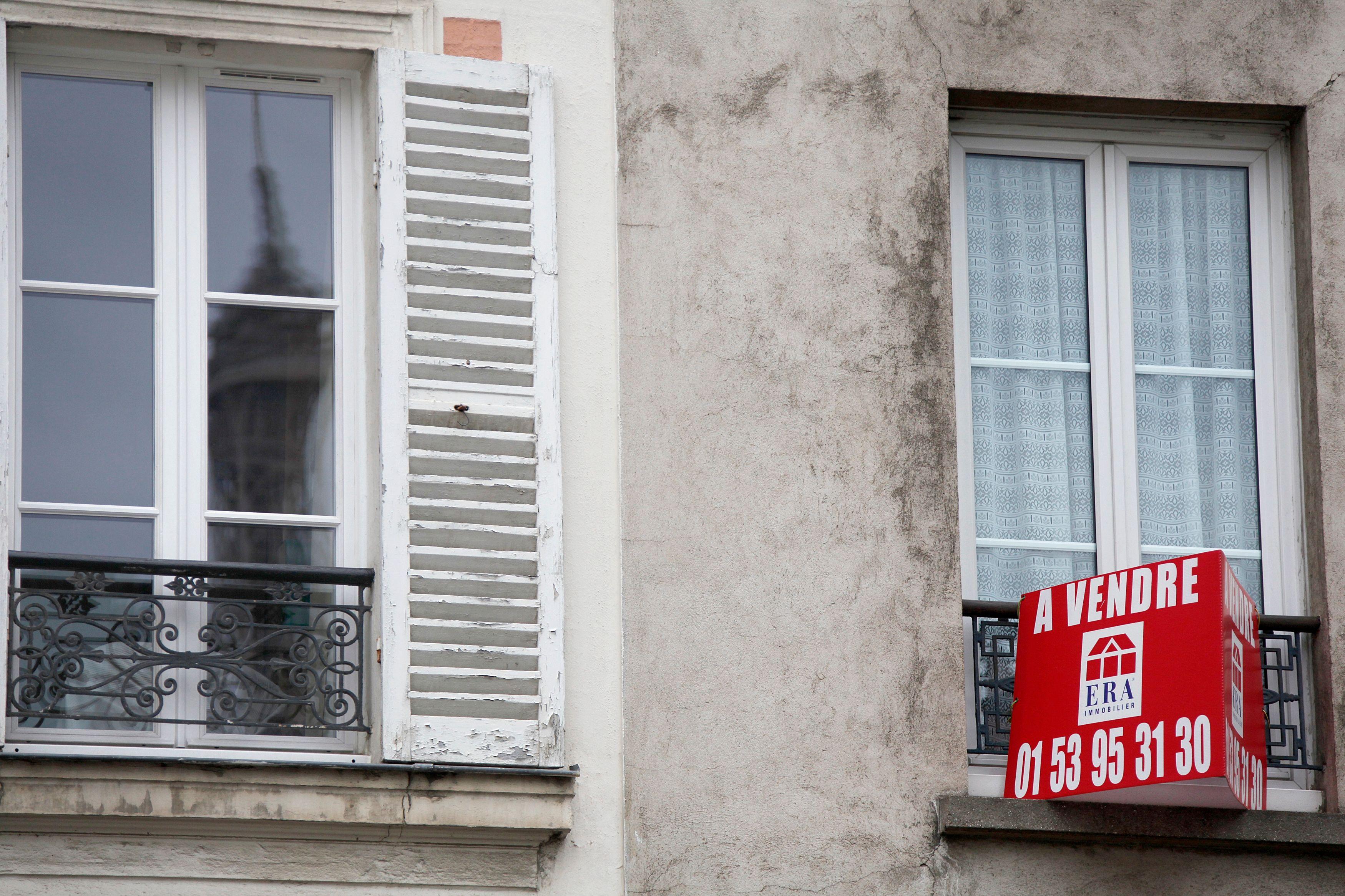 La baisse des prix immobiliers est annoncée.
