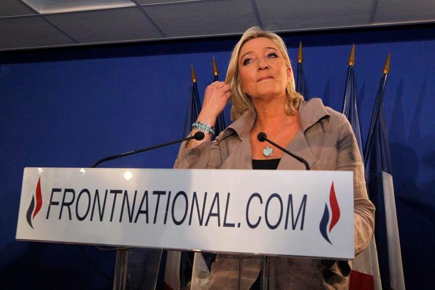 Marine Le Pen se félicite de la montée du FN