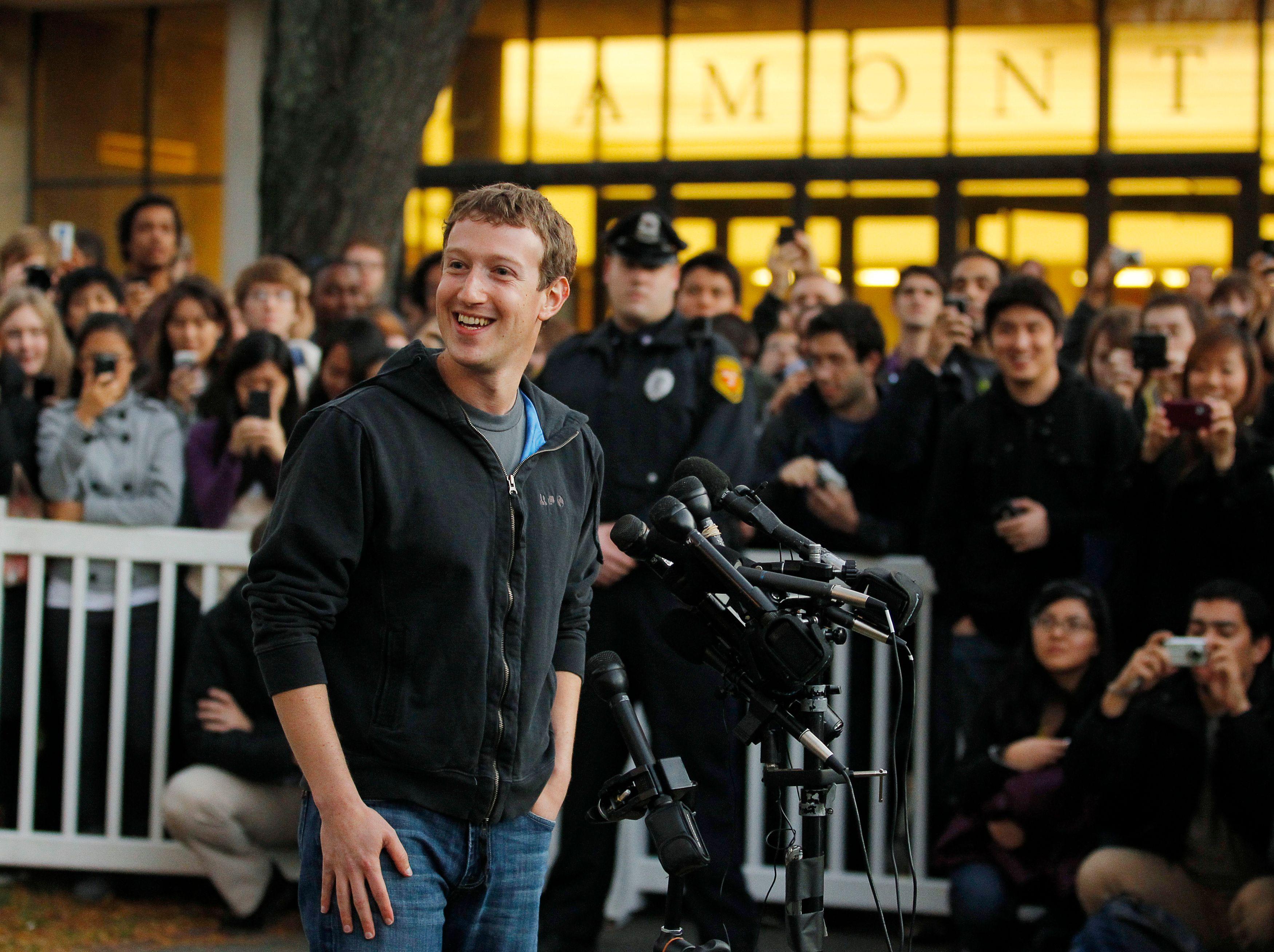 Facebook boucle son introduction en bourse, évaluée à 100 milliards de dollars... rien que ça.
