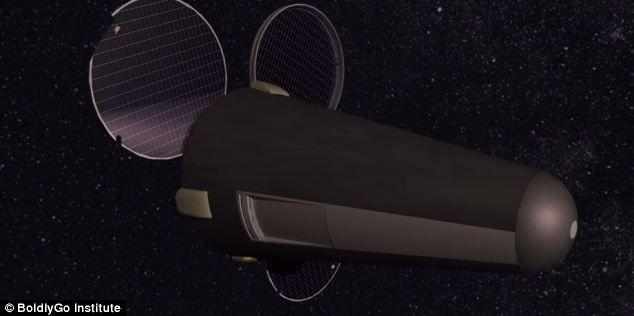 L'engin frôlerait Mars à une quarantaine de kilomètres et récolterait des poussières.