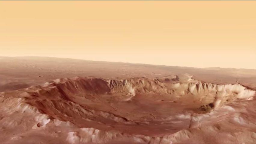 La surface de Mars est violemment balayée par les vents solaires