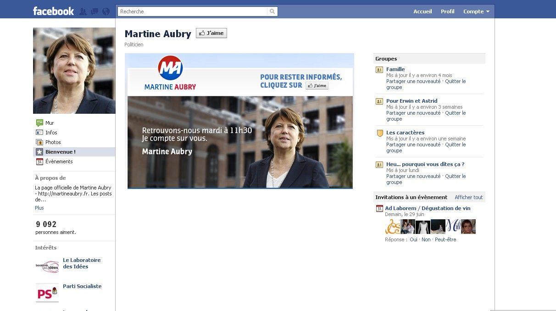 La communication de Martine Aubry est-elle innovante ?