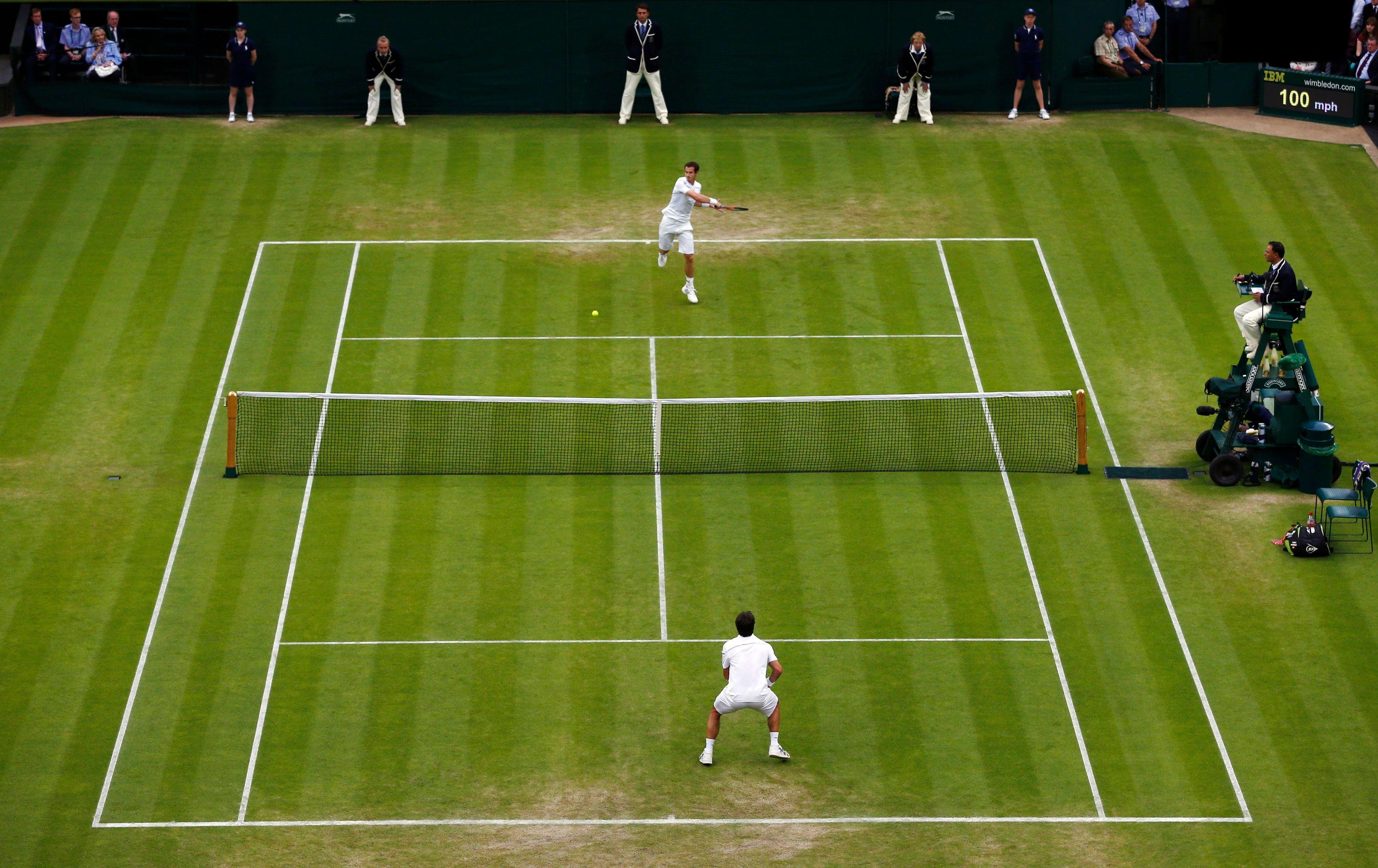Match de tennis.