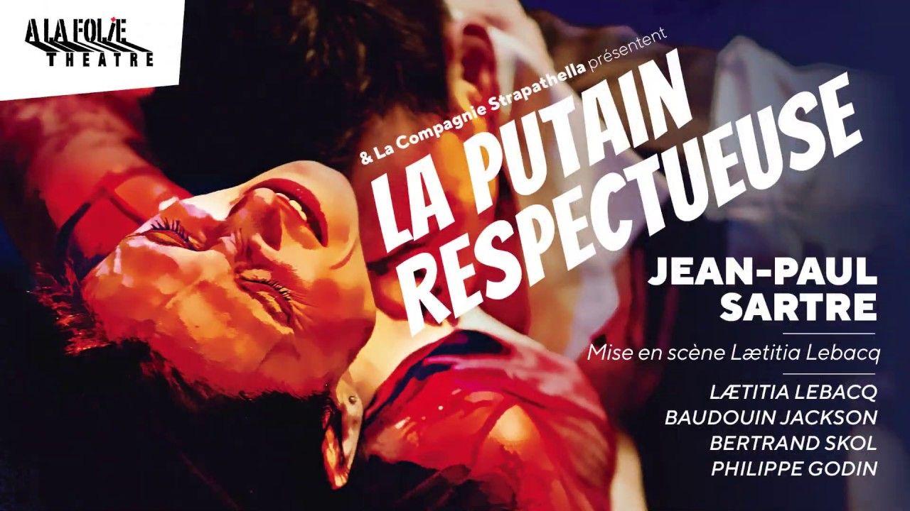 """La pièce de théâtre """"La Putain respectueuse"""" de Jean-Paul Sartre est à découvrir jusqu'au 20 juin A la folie Théâtre."""
