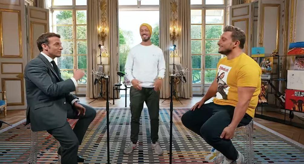 La vidéo d'Emmanuel Macron avec les Youtubeurs McFly et Carlito a été mise en ligne.